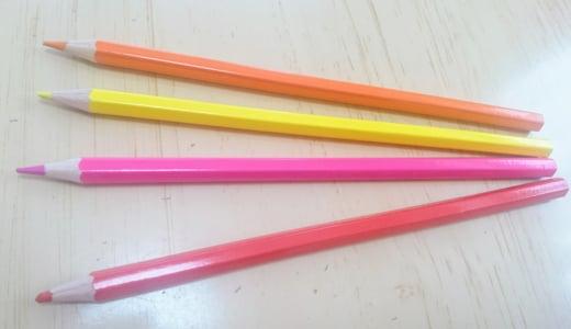色鉛筆で遊びました