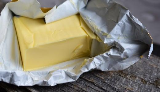 バターやマーガリンの銀紙は…