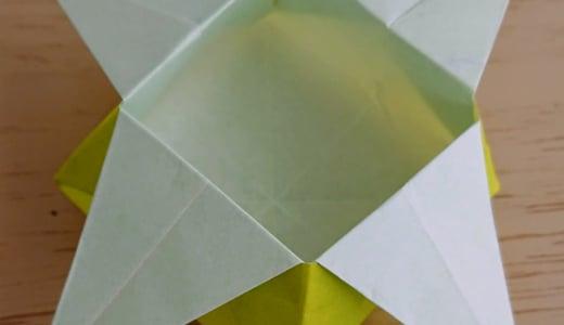 節分の豆まきに!折り紙で作る豆ばこ