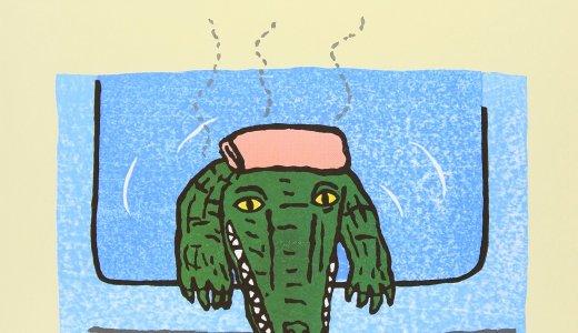 この絵本がきっかけでお風呂が好きになったお子さんも♪木版画で描かれたユーモラスで怖かわいい「わにわに」シリーズ