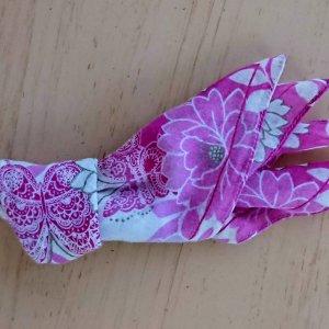 ハンカチで作る金魚の折り方